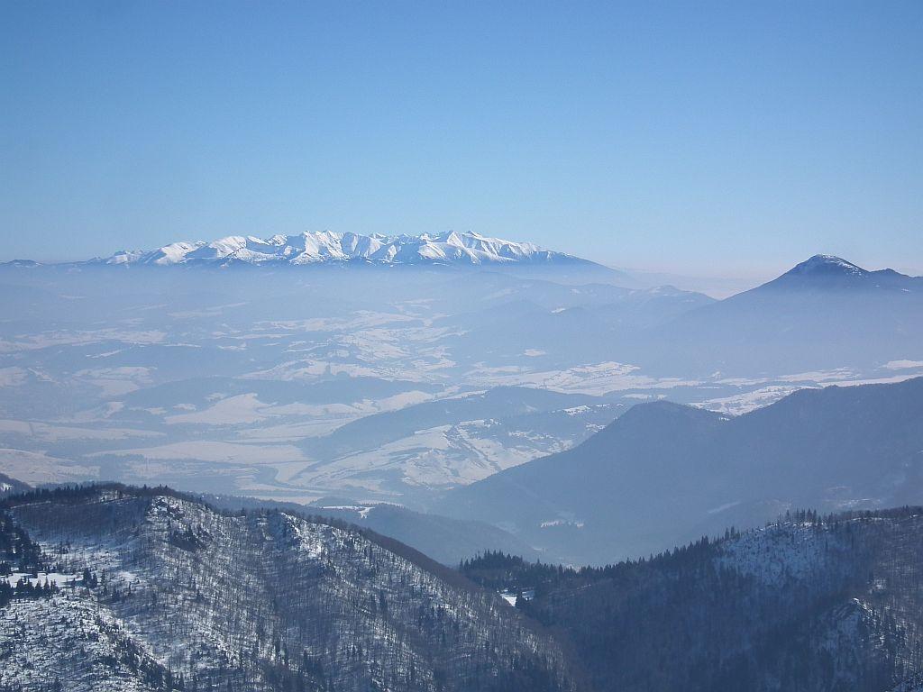 Schneeschuhwandern Slowakei