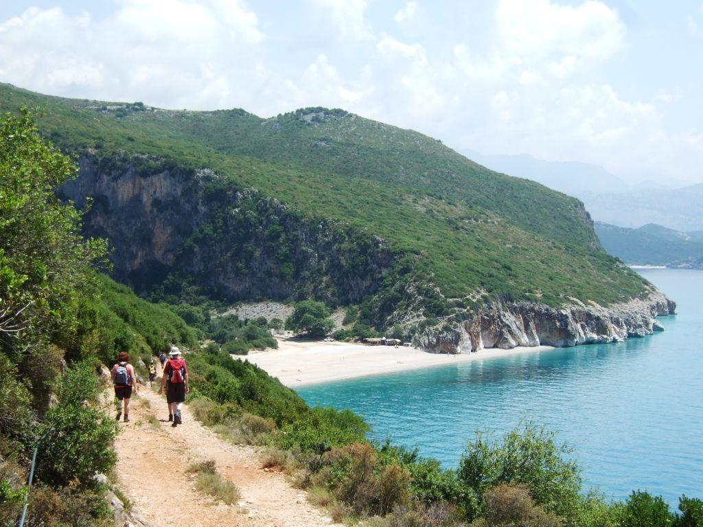 In Albanien wandern