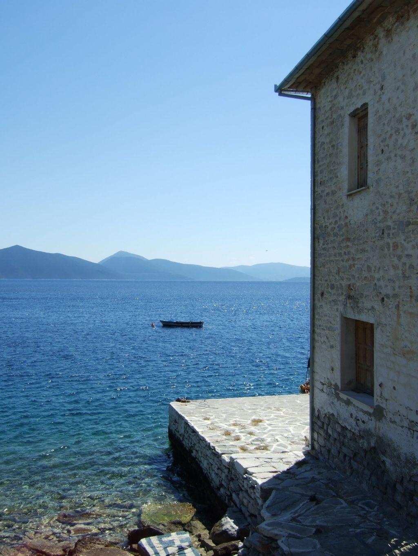 Griechenland Pilion Haus am Meer Sento Wanderreisen