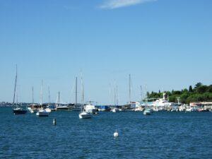 Slowenien Boote bei Portoroz - Sento Wanderreisen