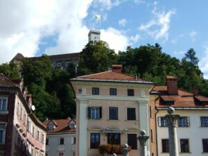Slowenien Ljubljana Burg - Sento Wanderreisen