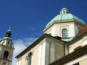 Slowenien Ljubljana Kathedrale - Sento Wanderreisen