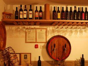 Slowenien Weinausschank - Sento Wanderreisen
