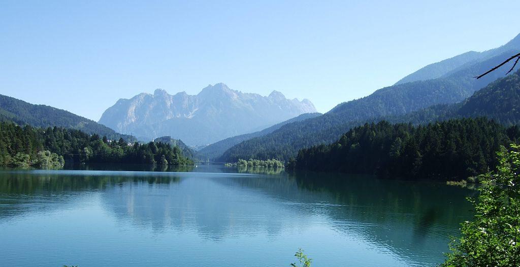 In den Dolomiten wandern